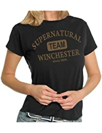 Team Winchester LADIES T-Shirt XS - XXL div. Farben