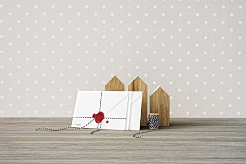 Avery Zweckform 62016 Living - Sellos para cartas (diámetro: 19 mm), color blanco