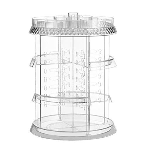 GHP Kosmetische Aufbewahrungsbox Desktop Rotierendes Rautenmuster Schubladen-Mehrschicht-Schminktisch Kosmetik, Parfüm, Schmuck Usw