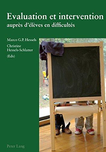 Evaluation Et Intervention Aupres D Eleves En Difficultes