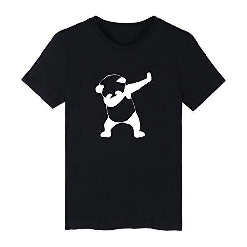 25c8c2c96284a6 SIMYJOY Pareja Dabbing Unicornio Camiseta Historieta Adorable Manga Corta T- Shirt Dab Cool Lindo Animal