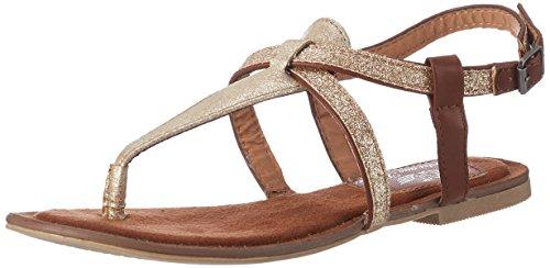 Fritzi aus Preussen Damen Sandals 03 Offene Gold (Gold)