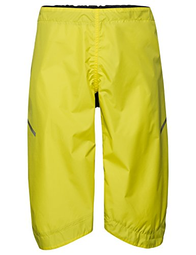 Vaude Bike Chaps, Überzieh-Hose für den Radsport Accessories, Canary, XL/2XL