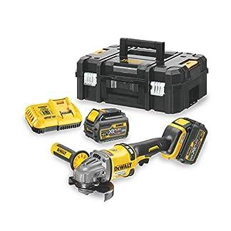 DeWalt batería–Amoladora de ángulo (125mm, 54V, XR Flex V, 1pieza