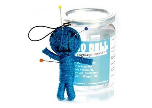 Voodoo Doll in Dose +++ LUSTIG von modern times +++ ALLGEMEINE ANGELEGENHEITEN - VOODOO-DOLL +++ I LOVE GIFTS