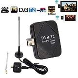 Fernsehempfänger Antenne für Handy, Automatische Fernsehkanäle die CTV DVB-T2 Micro USB TV Stick Tuner für Tablet, Handy Suchen