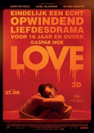 LOVE - Gaspar Noe – Dutch Imported Movie Wall Poster Print - 30CM X 43CM Brand New