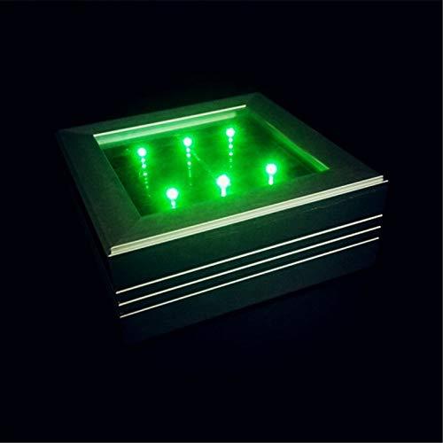 ZYJ 6 LED Solar-LED-Bodenfliesen-Licht, Aluminiumlegierungs-Quadrat-Shell Wasserdichte kohlenstoffarme Umweltschutz