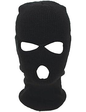 Sturmhaube Balaclava Skimaske 3 Loch Maske