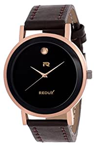 Redux Analogue Black Dial Men's Watch - Rws0131S