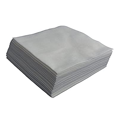Polishing Cloth for Leather goods (Pack of 20) - Ideal for application of polishes, creams and feeds for leather bags, garments, sofas, chairs, settee and leather car seats - low-cost UK light store.
