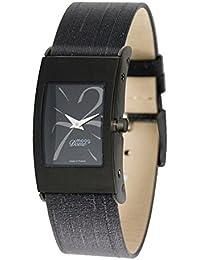 Moog M41661-010 - Reloj analógico de cuarzo para mujer, correa de tela color negro