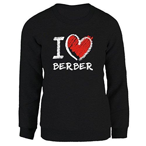 Idakoos I love Berber chalk style - Sprachen - Damen Sweatshirt Berber-pullover