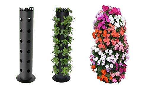 Badass Sharks 4x Flower Tower Gärtner pötschke flower tower debout Tour pour plantation de fleurs plantes en colonne