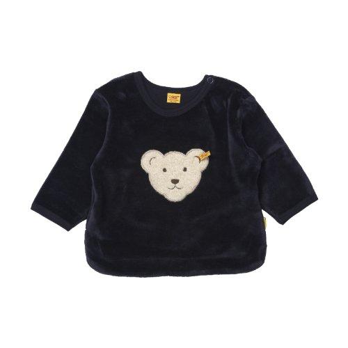 Steiff Unisex - Baby Sweatshirt Classics Nicky 0002881, Gr. 74, Blau (marine 3032) (Blau Sweatshirt Baby)