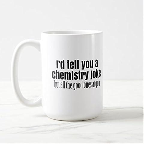 Funny Kaffee Tassen, für Frauen Büro Funny Chemie Meme für Lehrer Schüler Tasse Geschenke Classic weiß Kaffeebecher Keramiktasse Tasse beiden Seiten