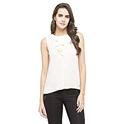 Park Avenue Womens Plain Regular Fit Top (PWAC01336-F5_Medium Fawn_96)