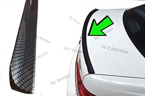 Car-Tuning24 53828134 wie Performance und M3 3er Cabrio E46 M3 tuning CARBON painted trunk lid becquet lip rear spoiler