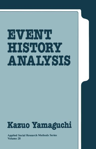 Event History Analysis (Applied Social Research Methods) by Kazuo A. Yamaguchi (1991-07-18)