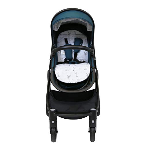 iSafe Marvel 2in1 Complete Pram System Pushchair and Carseat - Teal  iSafe