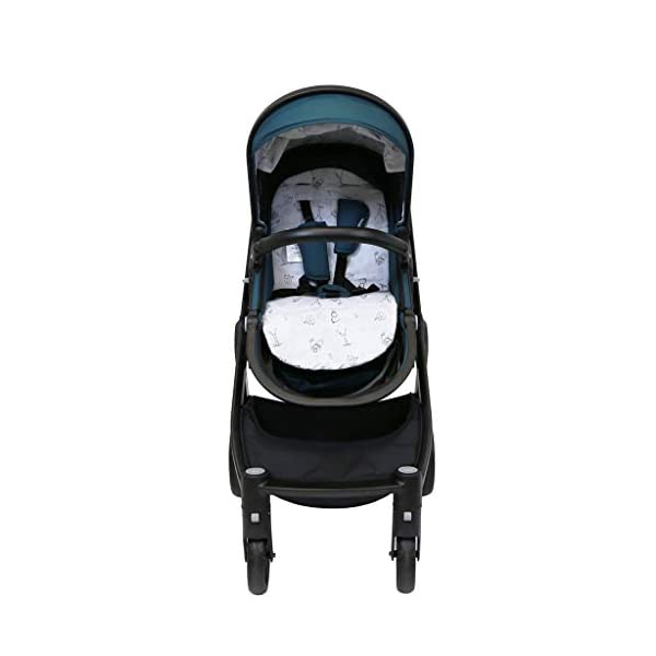 iSafe Marvel 2in1 Complete Pram System Pushchair and Carseat - Teal iSafe  5