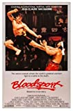 Bloodsport - Jean Claude Van Damme - U.S Movie Wall Poster Print - 30cm x 43cm / 12 inches x 17 inches