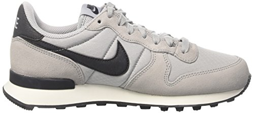 Nike 828407-004, Chaussures de Sport Femme, Noir Gris (Wolf Grey/black/summit White)