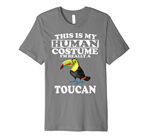 This Is My Echthaar Kostüm Ich bin wirklich ein Tukan T-Shirt ()