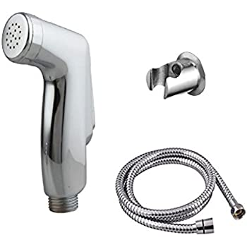 Prestige jaquar Health Faucet (abs) with 1mtr Flexible SS Tube and Wall Hook