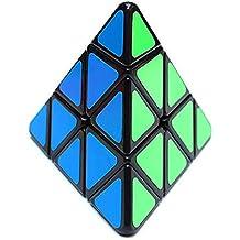 Maomaoyu 3x3x3 Pyraminx pirámide triángulo Cubo Magico(negro)