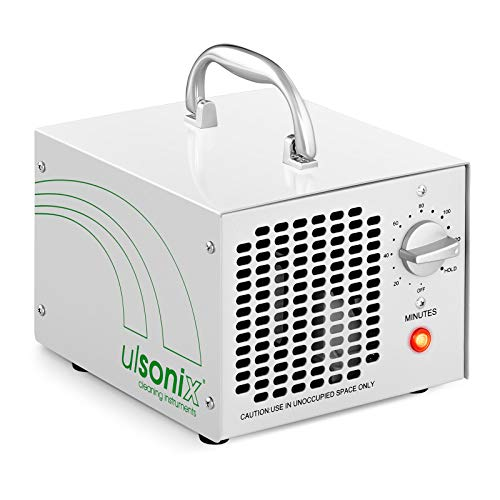 Generator-stahl-gehäuse (Ulsonix Ozongenerator Ozongerät Luftreiniger AIRCLEAN 5G-WL (5.000 mg/h, 65 W, Timer bis 120 min, Filter: Edelstahl))