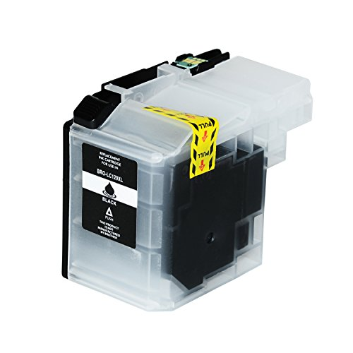 Preisvergleich Produktbild Tintenpatrone für LC-129XL für Brother MFC-J 6520DW MFC-J6720DW MFC-J 6920DW - LC129 - Schwarz 46ml