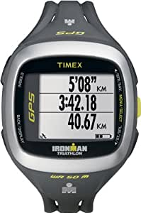 Timex Unisex Quartz Watch with LCD Dial Digital Display and Black Resin Strap T5K745F7