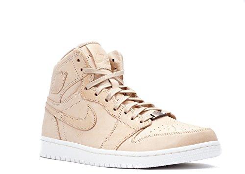 Nike Herren Air Jordan 1 Pinnacle Turnschuhe, Schwarz