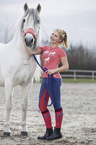 HKM Erwachsene T-Shirt -Bibi&Tina Horse-3004 koralle122/128 Hose, 3004 Koralle, 122/128