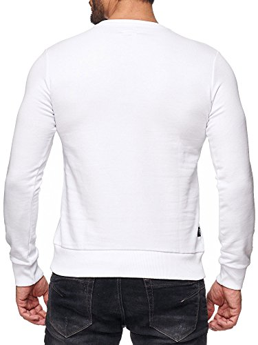 Red Bridge Herren Oberteile / Pullover Printed Weiß
