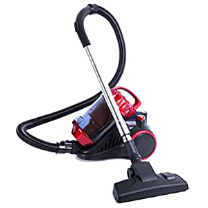 Duronic VC70 Compact - Energy class: A - Bagless 700W Cylinder Vacuum Cleaner with Speed Control
