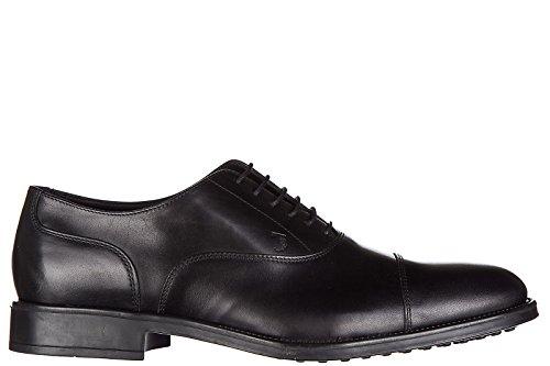 tods-clasico-zapatos-de-cordones-hombres-en-piel-nuevo-oxford-fondo-caucho-rq-negro-eu-42-xxm0rq00n5