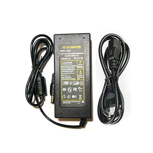 Netzteil 24V 2A 48W, Netzadapter Transformator Trafo für LED Strip Streifen Light Lichterkette,Kamera,LCD Monitor -