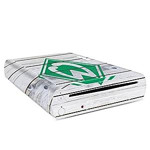 DeinDesign Skin Aufkleber Sticker Folie für Nintendo Wii U Konsole Holzplanken Fanartikel Mannschaft