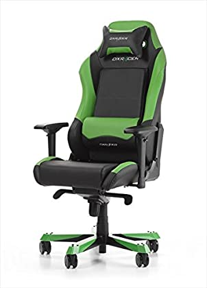 DX Racer Oh/IS11/NE Asiento Gaming Negro/Verde