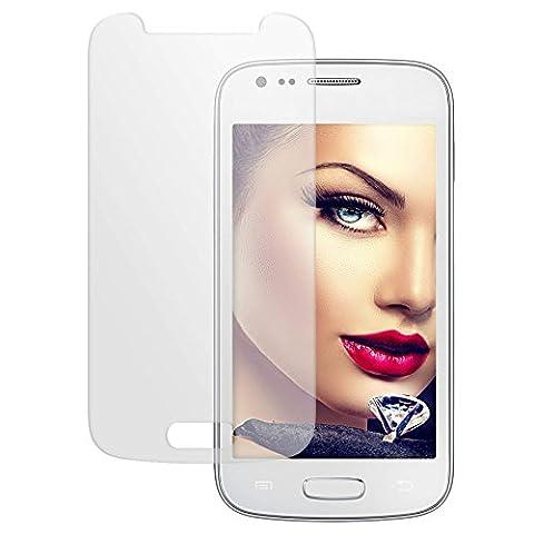 mtb more energy® Protecteur d'écran en verre trempé pour Samsung