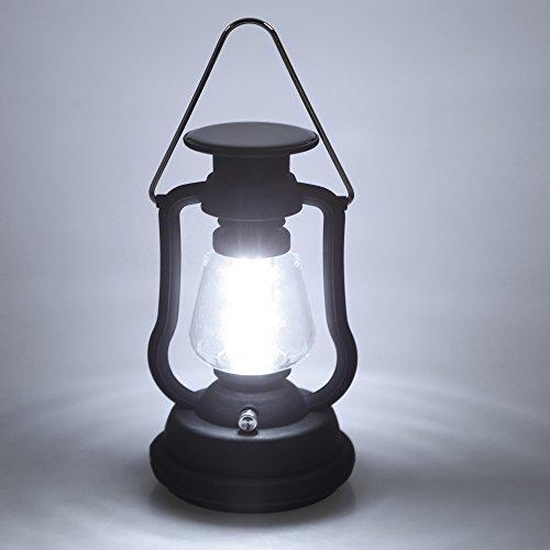Lixada 120 lúmenes 16 LED recargable impermeable al aire libre potable dínamo de la manivela que acampa solar de la linterna lámpara que acampa que acampa yendo de emergencia