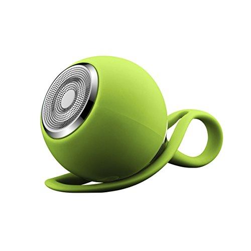 GizmoVine Tragebarer Bluetooth Lautsprecher Wasserdicht mini Wireless Audio Speaker , AUX , TF , für Apple iOS und Android Smartphones Handys, Tablets Laptops , Grün