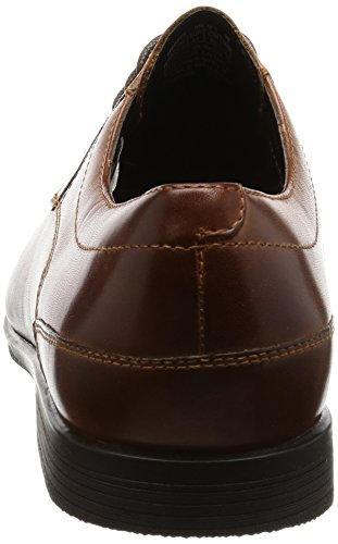Rockport Herren Style Connected Plaintoe Stiefel Braun (Brown Leather)