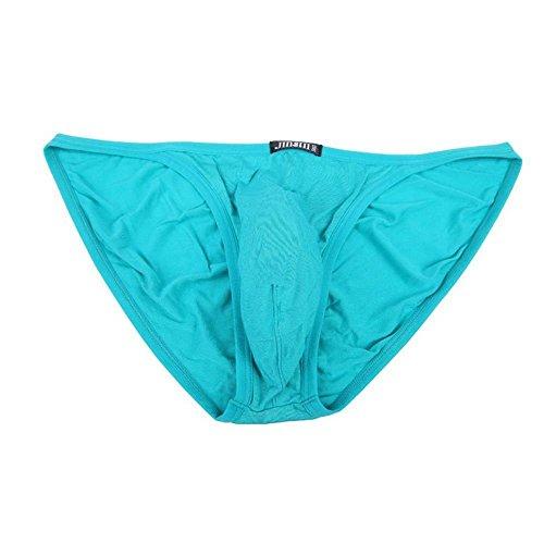 JINSHI Herren Bambusfaser sexy Slip Unterwäsche Triangle Unterhose Multi-6Pack-02