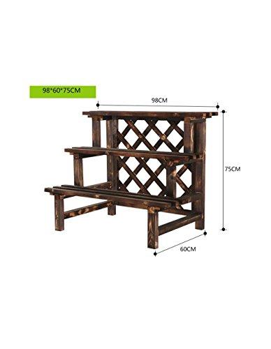 HZA Pergolen aus Holz, Blumen Karbid, Montage mehrschichtige Holzschutzmittel Balkonblume , im...