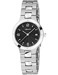 M-WATCH Metal Classic Analog Black Dial Women's Watch-WRT.48220.SK