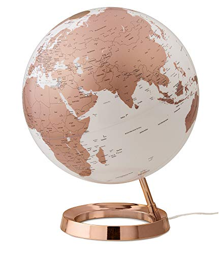 TECNODIDATTICA Tecnodidattoo Mappamondo Atmosphere Light&Colour Metal Copper, Farbe braun, 0331F7