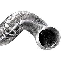 Klimapartner Semiflex 125 - Conducto Flexible de Aluminio Ventilación Tubo